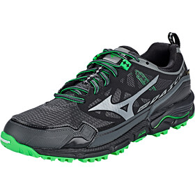 Mizuno Wave Daichi 4 GTX Zapatillas Hombre, dark shadow/quiet shade/poison green